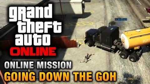 GTA Online - Mission - Going Down the GOH Hard Difficulty
