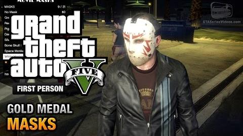 GTA 5 - Mission 36 - Masks First Person Gold Medal Guide - PS4