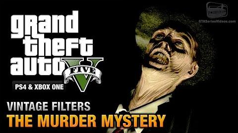 GTA 5 - The Murder Mystery Guide (Vintage Filters) PS4 & Xbox One