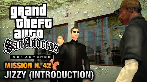 GTA San Andreas Remastered - Mission 42 - Jizzy Introduction (Xbox 360 PS3)