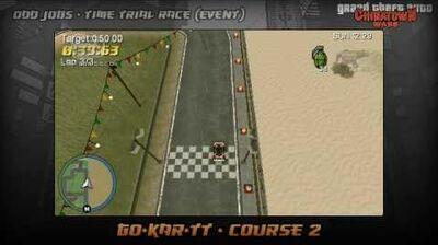 GTA Chinatown Wars - Walkthrough - Time Trial Race - Go-Kar-TT - Course 2