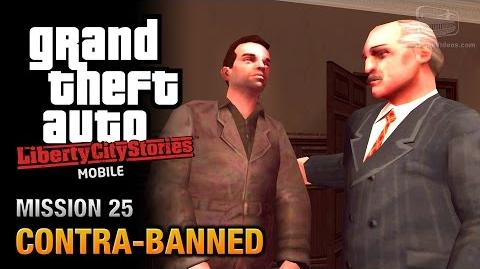 GTA Liberty City Stories Mobile - Mission 25 - Contra-Banned