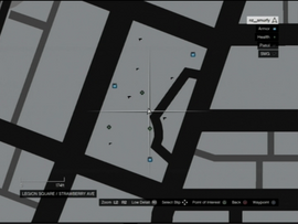 Legion Square Survival GTAO Spawn Map
