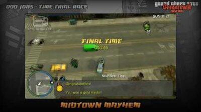 GTA Chinatown Wars - Walkthrough - Time Trial Race - Midtown Mayhem