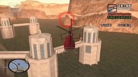 GTA San Andreas - Walkthrough - Air Race - Chopper Checkpoint (HD)