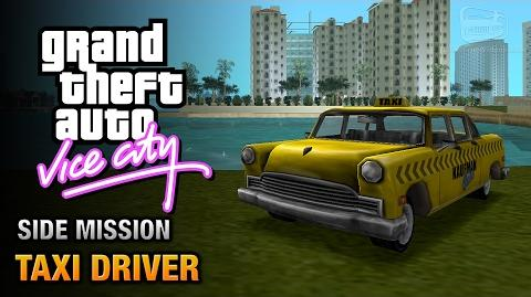 GTA Vice City - Taxi Driver Point A to Point B Trophy Achievement