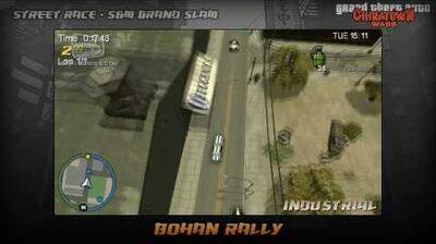GTA Chinatown Wars - Walkthrough - Street Race - S&M Grand Slam - Bohan Rally