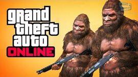 GTA Online - Play as Bigfoot (Secret Peyote Plant)