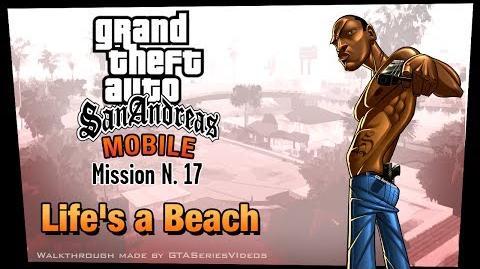GTA San Andreas - iPad Walkthrough - Mission 17 - Life's a Beach (HD)