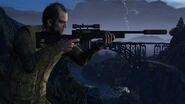 Official PC Screenshot GTAV Facebook Trevor Sniper