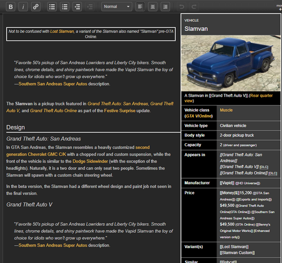 VisualEditorClassicPreview-GTAWiki-bug