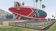 Xero Blimp GTAVe Racecourse Spawn
