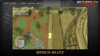 GTA Chinatown Wars - Walkthrough - Time Trial Race - Beach Blitz