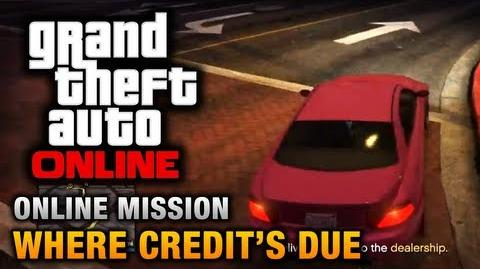GTA Online - Mission - Where Credit's Due Hard Difficulty