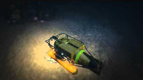 Shark vs submersible