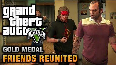 GTA 5 - Mission 21 - Friends Reunited 100% Gold Medal Walkthrough