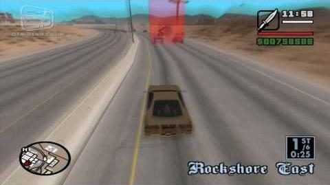 GTA San Andreas - Walkthrough - Street Race - LV Ringroad (HD)