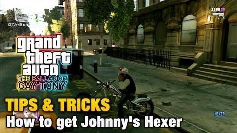 GTA The Ballad of Gay Tony - Tips & Tricks - How to get Johnny's Hexer