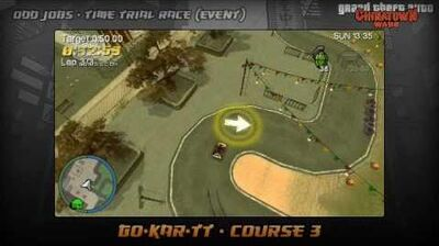 GTA Chinatown Wars - Walkthrough - Time Trial Race - Go-Kar-TT - Course 3