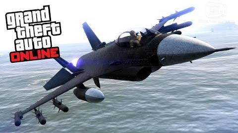 GTA Online - P-996 Lazer -Smuggler's Run Update-