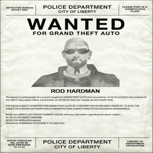 Rod Hardman | GTA Wiki | FANDOM powered by Wikia