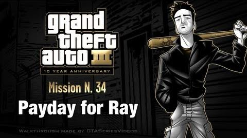 GTA 3 - iPad Walkthrough - Mission 34 - Payday for Ray