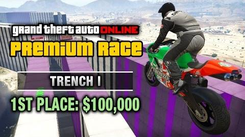GTA Online - Premium Race 19 - Trench I (Cunning Stunts)