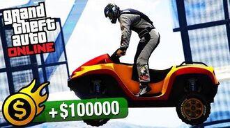 GTA Online Premium Race - Into The Dam