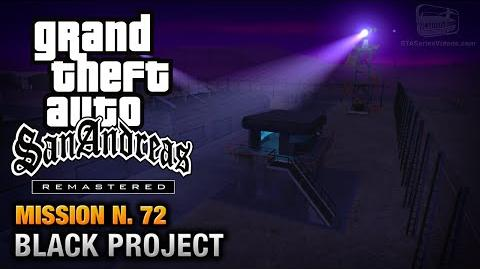 GTA San Andreas Remastered - Mission 72 - Black Project (Xbox 360 PS3)