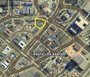 Chamberlain Plaza GTAV Map Location