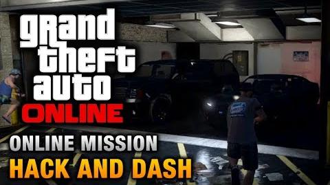GTA Online - Mission - Hack and Dash Hard Difficulty