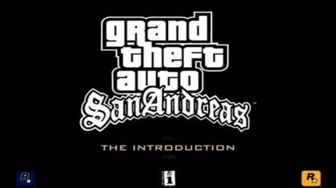 "GTA San Andreas ""The Introduction"" Official Trailer"