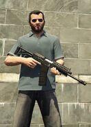 MichaelDeSanta-GTAV-HeavyShotgun
