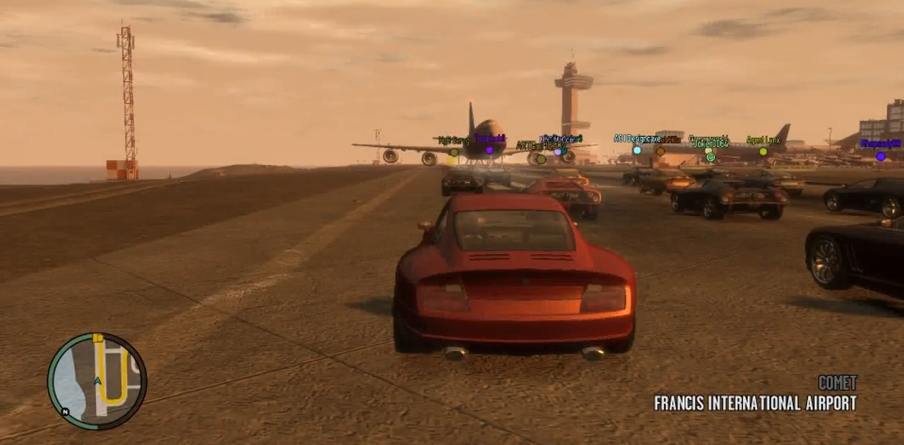 Multiplayer in gta iv gta wiki fandom powered by wikia race modes publicscrutiny Choice Image