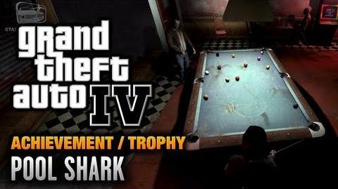 GTA 4 - Pool Shark Achievement Trophy (1080p)