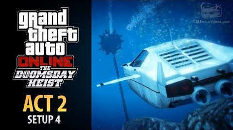 GTA Online Doomsday Heist Act 2 - Setup Submarine Recon (Elite & Mastermind II)