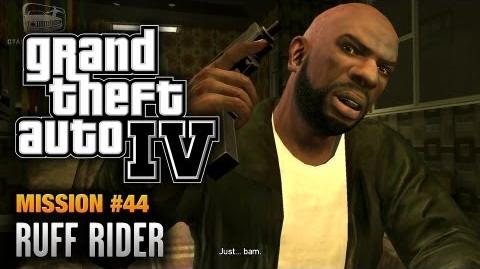GTA 4 - Mission 44 - Ruff Rider (1080p)