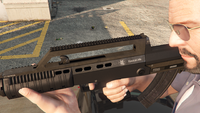 Bullpup Rifle-GTAV-Markings