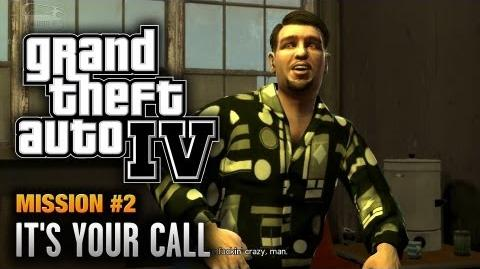 GTA 4 - Mission 2 - It's Your Call (1080p)