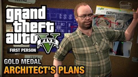 GTA 5 - Mission 63 - Architect's Plans First Person Gold Medal Guide - PS4