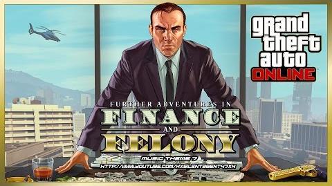 Grand Theft Auto GTA V 5 Online Finance and Felony - Power Play (Adversary Mode) Music Theme 7