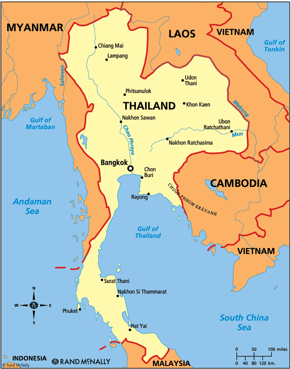 Image Map Of Thailandpng GTA Wiki FANDOM Powered By Wikia - Thailand map
