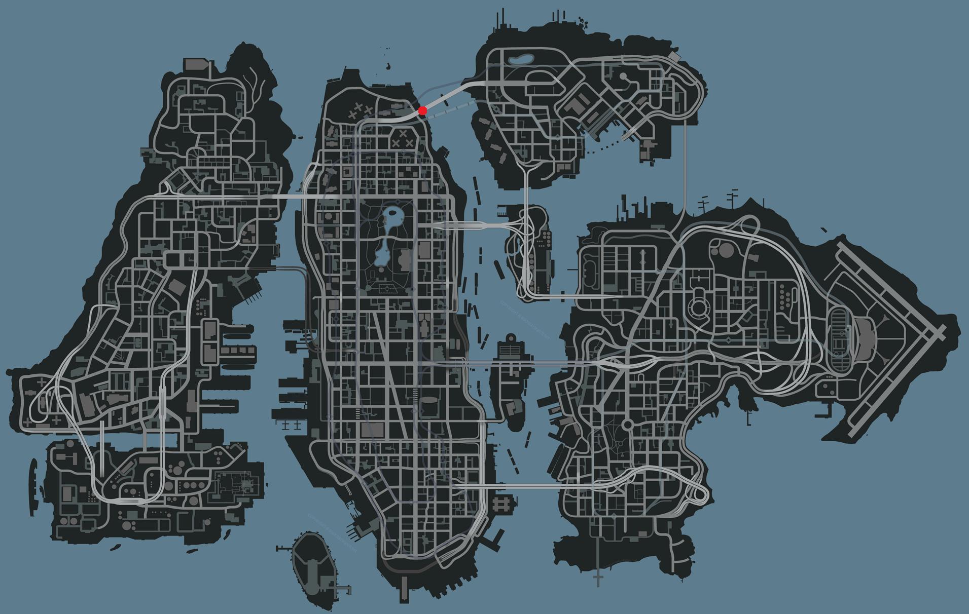 Liberty City Map   compressportnederland