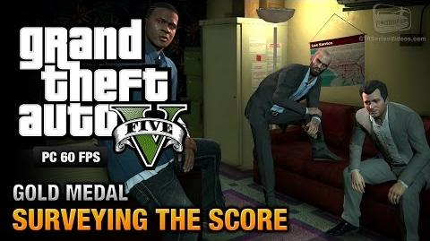 GTA 5 PC - Mission 56 - Surveying the Score Gold Medal Guide - 1080p 60fps