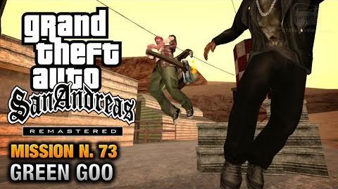 GTA San Andreas Remastered - Mission 73 - Green Goo (Xbox 360 PS3)