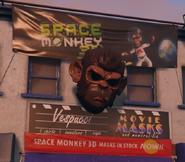 Space Monkey 3D GTAVe masks