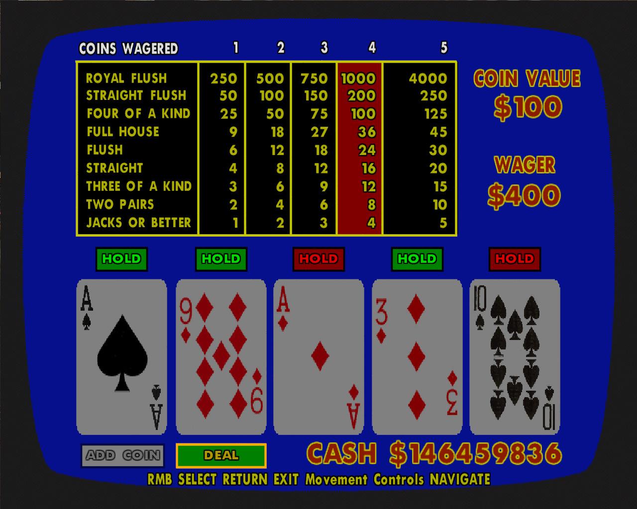 aces up poker rhode island