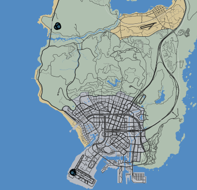 Battle of Los Santos LTS GTAO Map