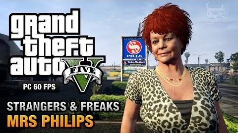 GTA 5 PC - Mrs Philips Strangers and Freaks