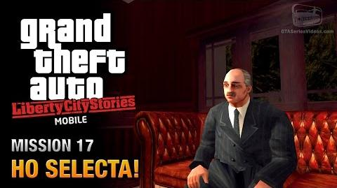 GTA Liberty City Stories Mobile - Mission 17 - Ho Selecta!